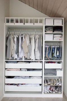 Great Interior: Ein Erstes Wohnungsupdate U2013 Mein Begehbarer Kleiderschrank |  Closet Organization, Organizations And Storage Nice Design