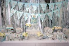 Frozen Winter Wonderland themed birthday party via Kara's Party Ideas KarasPartyIdeas.com Stationery, decor, cake, tutorials, favors, recipes, supplies, etc! #frozen #frozenparty #winterwonderlandparty (6)