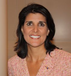 Nikki Haley,First (and only) woman to serve as Governor of South Carolina. First female Indian American (and Asian American) Governor. Also (as of January 2013), the youngest current Governor.