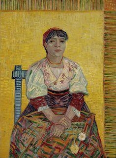 Vincent Van Gogh - Portrait of Italian Woman, 1887, Paris Musée d Orsay