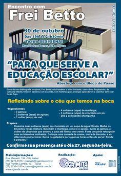 """Comunicado 3 """"Encontro com Frei Betto"""" - out.2009"""