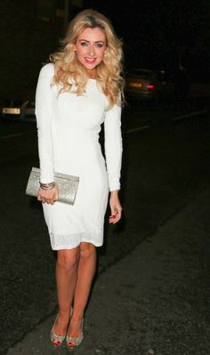 Hollyoaks Christmas party pictures: Gemma Merna looks lovely