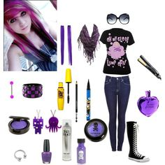 sweet emo girl by nasialove on Polyvore $24!!!!Oakley sungalsses are on sale!!!!!!! www.sports-discounts.com