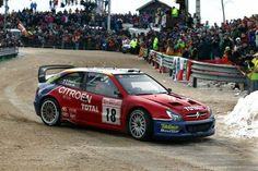 ra Sebastien Loeb - Daniel Elena-Citroen Xsara WRC-Citroen Total-Rallye Automobile Monte Carlo 2003
