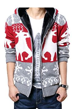 Cheap men sweater, Buy Quality mens christmas sweater directly from China sweater with deer Suppliers: New Spring Plus Size Mens Sweaters Male Thick Cardigan Men Christmas Sweater With Deer Jacket Casual Knitted Sweater Clothing Hooded Sweater, Sweater Coats, Sweater Jacket, Hooded Jacket, Men Sweater, Men Cardigan, Knit Sweaters, Winter Fashion Casual, Vest Outfits