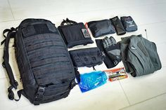 Loadout: Murdered Out Litespeed  Mike from the UK shares his co-ordinated and well organised setup that is made up of some quality gear.  [[MORE]] Kit List:  • Triple Aught Design Litespeed (Gen 2) with CP1 inside for organisation • Modded Triple...