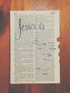 Jesus, I will follow you.