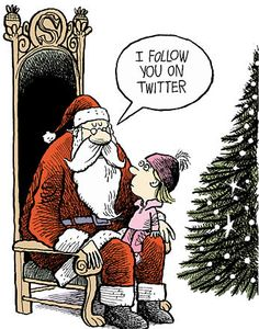 Santa knows if your naughty or nice....