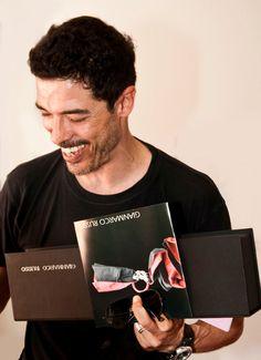 Gianmarco Russo stilista - Alessandro Gassman -