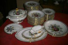 Ancien Service Vaisselle Complet Pâtes ET Emaux DE Limoges France | eBay