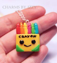 Kawaii Crayon box charm