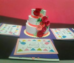 Im just in love with the cake !!