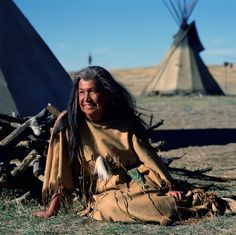 Doris Leader Charge was raised in a Lakota speaking family and did not learn to speak English until she was sent to the boarding school.