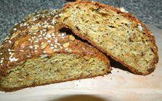 Cibulový LC chléb - Jídelní plán Banana Bread, Low Carb, Desserts, Food, Tailgate Desserts, Deserts, Essen, Postres, Meals