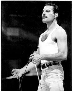 freddie mercury live aid bow at DuckDuckGo Art Beat, John Deacon, Freedy Mercury, Freddie Mercuri, Live Aid, King Of Queens, Roger Taylor, We Will Rock You, Queen Freddie Mercury