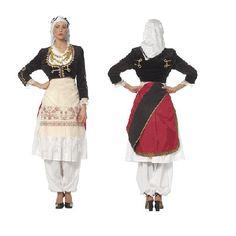 Cretan Female Traditional Dance Costume