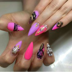 Beautiful Nails, Love That Style!