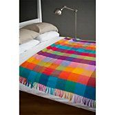 Buy Avoca Circus Wool Throw, Multi from our Throws, Blankets