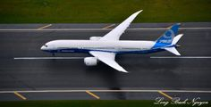 Boeing 787-9, Dreamliner, N789FT, Boeing Field, Seattle, Washington