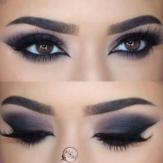 """48 Likes, 3 Comments - Makeup Ideas (@ineedmakeupideas) on Instagram: """"@wakeupandmakeup - @chelseasmakeup obsessed! #makeup #eyemakeup #eyelook #eyeliner #eyeshadow…"""""""