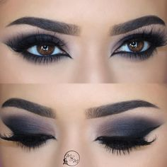 "1,672 Me gusta, 33 comentarios - Meggan Ory (@makeupbymeggan) en Instagram: ""What lip color would you pair with this eye?!? Liner is @morphebrushes slate liner Lashes…"""