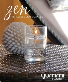30% off oild refills with the purchase of the Zen refillable glass candle. Only available until June 11, 2016!
