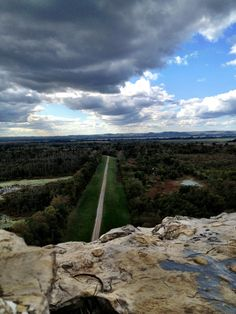 Inspiration point in Southern Illinois
