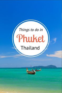 Insiders guide to Phuket, Thailand - visit our blog and learn where to eat, drink, sleep, shop, explore and much more!