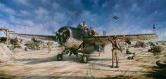 John Shaw Aviation Art: The Magnificent Fight