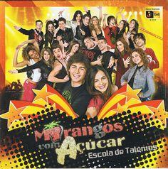 Morangos com Açucar-Escola de Talentos Drama Tv Shows, Twitter, Anatomy, Musicals, Romance, Movie Posters, Instagram, Books, Wallpapers
