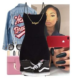 """"""""""" by f-ruitpops ❤ liked on Polyvore featuring Accessorize, Gucci, Salvatore Ferragamo, High Heels Suicide and Vans"""