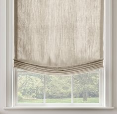 Lovable Relaxed Roman Shades Inspiration with Best 25 Linen Roman Shades Ideas Only On Home Decor Roman Blinds Blinds For Windows, Curtains With Blinds, Window Blinds, Bay Windows, Curtain Panels, Sheer Blinds, Arched Windows, Hanging Curtains, Blackout Curtains
