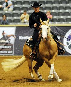 Lyle Lovett & Mistress With A Gunat the Kentucky Reining Cup