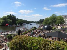 A summertime favourite with stunning views of the Thames at Richmond