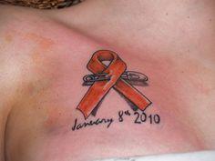 leukemia tattoos | ... and marking Gaia's HUGE battle with Leukemia was remarkable