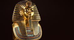 imagen de Máscara funeraria de Tutankhamón. Museo de El Cairo, Egipto.