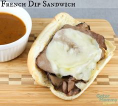 French Dip Sandwiches aka Beef Dips are a simple weeknight meal that only take 15 minutes! #WeekNightHero #Ad #cbias  - Easy French Dip Sandwich Recipe on Gator Mommy Reviews