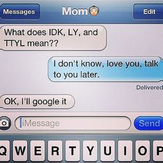 Funny Mom Texts | POPSUGAR Tech