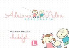 Serviço: Criação de Logo ilustrada (representando os filhos da cliente Emoticon smile ) Cliente: Adriana Pedra Cidade: Santos - SP Logovisual é marcas com criatividade. #logovisual