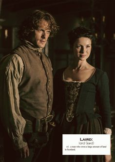 Outlander definitions.- Laird. (x)