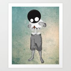 whats inside? Art Print by Seamless - $15.00