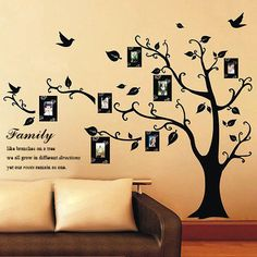 Family Photo Tree/ Wall Stickers/ Wall Decals by WonderStickers, £9.99