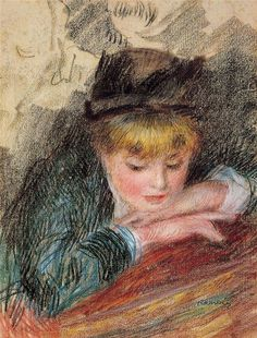 The Loge, 1879, Pierre-Auguste Renoir. from http://www.paintingsframe.com/Pierre+Auguste+Renoir-painting-c48.html