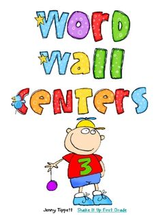 Here are 5 weeks worth of word wall centers.  For each set of words you will find 3 activities  1)  Find the Words- I have studentschose a co...