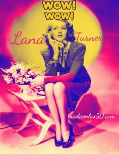 Divas al Teléfono - Moda en los 50 Lana Turner, Sophia Loren, Grace Kelly, Audrey Hepburn, Rockabilly, Moda Pinup, Pin Up, Hollywood, Elizabeth Taylor