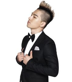 Taeyang hairstyle backless dresses