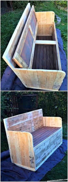 Spectacular Diy Projects Pallet Sofa Design Id - Jardin Vertical Fachada Pallet Sofa Tables, Pallet Patio Furniture, Diy Pallet Sofa, Diy Furniture, Diy Sofa, Diy Chair, Pallet Furniture Tutorial, Diy Pallet Projects, Wooden Pallets