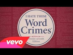 """Weird Al"" Yankovic - Word Crimes - Blurred Lines parody with grammar lessons!"