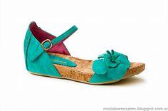 Sandalias 2014, zapatos 2014. Moda 2014 calzados, Laura Constanza verano 2014.