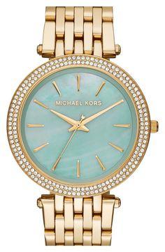 b93e15334a740 Mint Michael Kors Watch. Michael Kors Blue Watch
